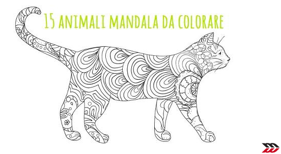 Mandala 15 animali da colorare scarica gratis - Animali selvatici da colorare ...