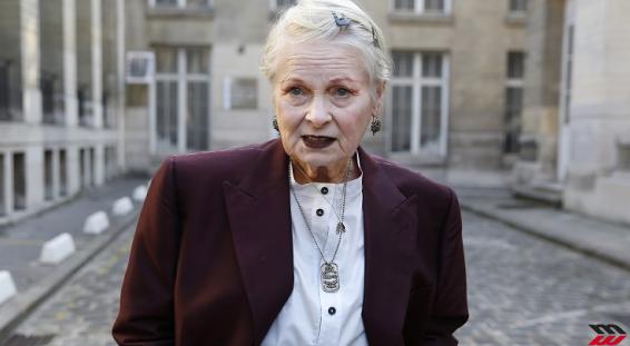Vivienne Westwood in passerella a 75 anni