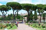 O jardim das Rosas em Roma!