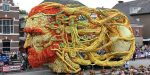 Le spettacolari sculture di fiori ispirate a Van Gogh