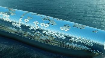 Produrre energia solare e acqua potabile desalinizzata dal mare per un'intera città: presentato il dispositivo