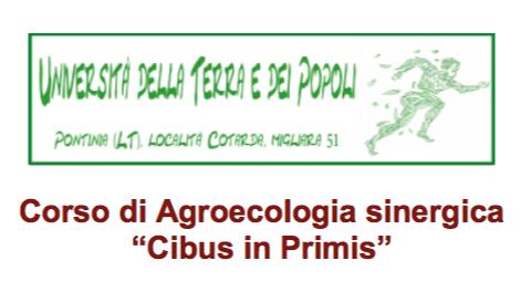 Corso di Agroecologia sinergica – Cibus in Primis