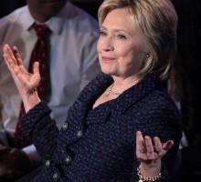 HillaryClinton pronta arisfidareTrumpnel 2020