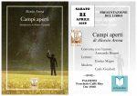 """Comunicato stampa: Presentazione del libro di poesie di Alessio Arena """"Campi aperti"""""""