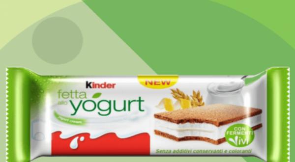 Arriva Il Kinder Fetta Alla Yogurt Websuggestion Masterblog