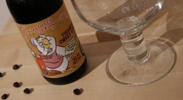 Tiramisu Sweet Stout, una birra intensa tra forza e dolcezza
