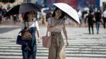 Caldo record in Giappone