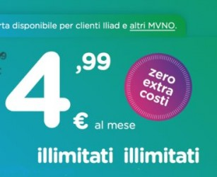 Arriva la super offerta da 50GB a 4,99 euro al mese