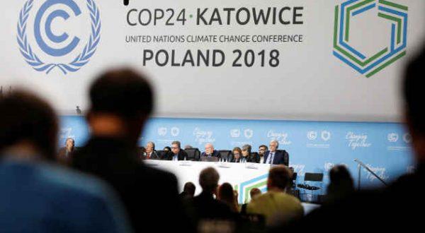 Conferenza sul Clima di Katowice: non c'e' una chiara e forte risposta dei governi all'urgenza della crisi climatica