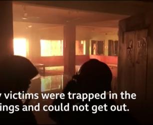 Bangladesh fire: Blaze kills dozens in Dhaka historic district - BBC News
