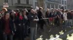 Scuola, studenti a Milano protestano contro i tagli del Governo