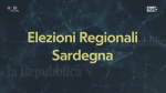 I risultati delle elezioni regionali in Sardegna