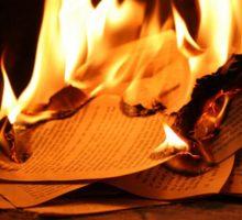 Esercizi immaginativi per dimenticare 4 - bruciare i dispiaceri d'amore