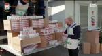 Finanzieri sequestrano tre tonnellate sigarette di contrabbando nel Casertano