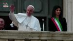 Roma, papa Francesco in Campidoglio incontra la sindaca Raggi