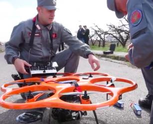 Terra dei fuochi, il drone contro i roghi anti roghi che trasmette immagini in tempo reale