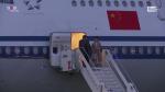 Roma, l'arrivo a Fiumicino del presidente Xi Jinping con la first lady