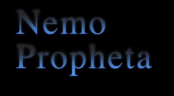 NEMO PROPHETA di David Cinnella, prodotto da Voce Spettacolo