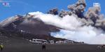 Etna, l'eruzione vista da 2600 metri