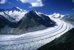 I ricercatori del Cnr hanno utilizzato un modello matematico per stimare il comportamento di alcuni ghiacciai