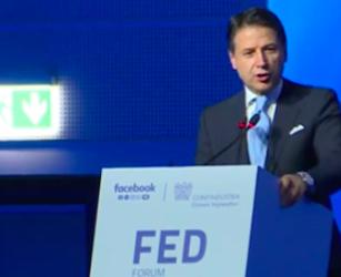 MILANO Il Presidente Conte al Forum dell'Economia digitale