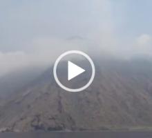 lo Stromboli e' ancora in disequilibrio. Il vulcano resta sorvegliato