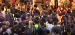 Hong Kong protests: China flag trampled in mall unrest – BBC News