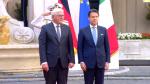 PALAZZO CHIGI: Il Presidente Conte incontra il Presidente della Repubblica federale di Germania Steinmeier | VIDEO