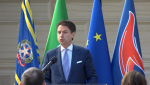 PALAZZO CHIGI : Il Presidente Conte alla cerimonia di giuramento dei neoassunti del Dis | VIDEO