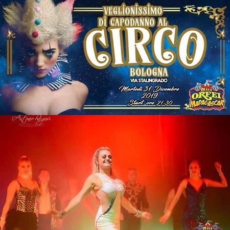Maya Orfei Circo madagascar a Bologna