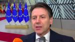 PALAZZO CHIGI : Bruxelles, punto stampa del Presidente Conte | VIDEO