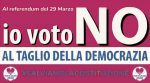 Partito Valore Umano (PVU) – REFERENDUM 29 MARZO 2020