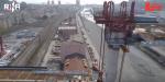Genova, la maxi campata del ponte quasi pronta vista dal drone | VIDEO