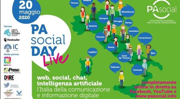 """Giovani, PA Social: """"Il 20 maggio torna l'evento su comunicazione e informazione digitale"""""""