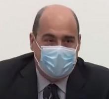 """Fase 2, Zingaretti: """"La mascherina diventi la nuova moda dell'estate""""   VIDEO"""