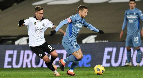 Lo Spezia blocca a Cesena l'Atalanta sullo 0-0