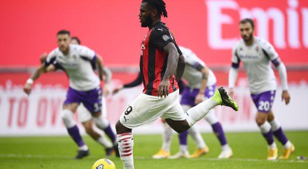 Romagnoli e Kessie, Milan-Fiorentina 2-0