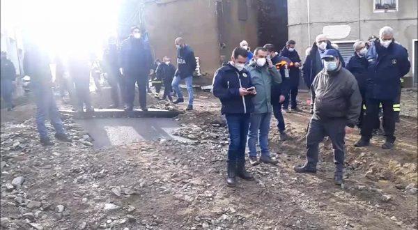 Maltempo in Sardegna, sopralluogo Solinas e Borrelli per stima danni