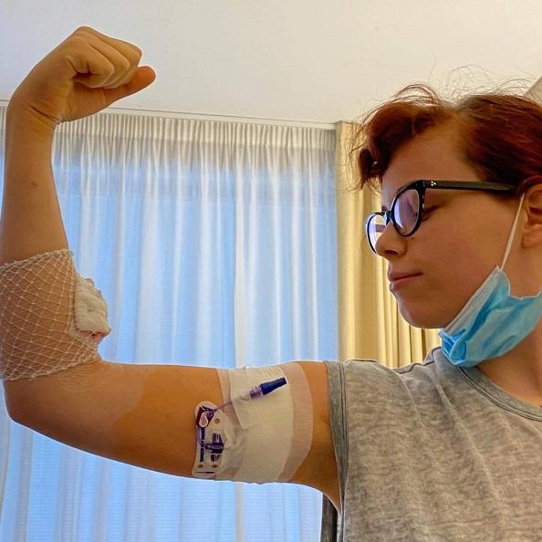"""La figlia di Jovanotti vince il tumore """"Voglio ricominciare a vivere"""""""