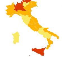 Da oggi zona rossa per tre Regioni, la Lombardia fa ricorso al Tar
