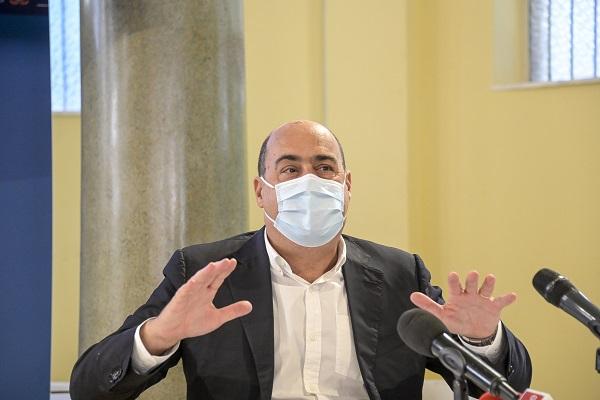 """Zingaretti """"In Parlamento appello a responsabilità, chiederemo fiducia"""""""