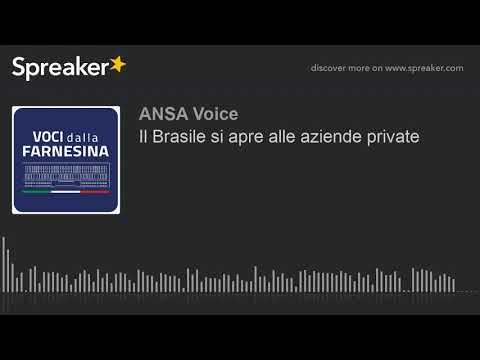 Il Brasile si apre alle aziende private