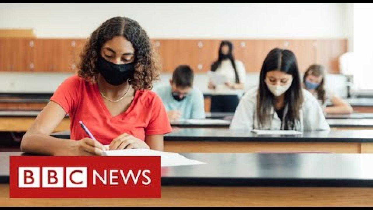 Boris Johnson defends plans for teachers to decide exam grades – BBC News