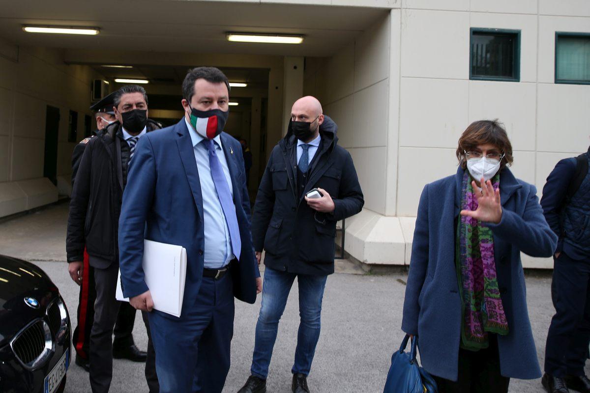 """Salvini """"Mio rinvio a giudizio decisione più politica che giudiziaria"""""""