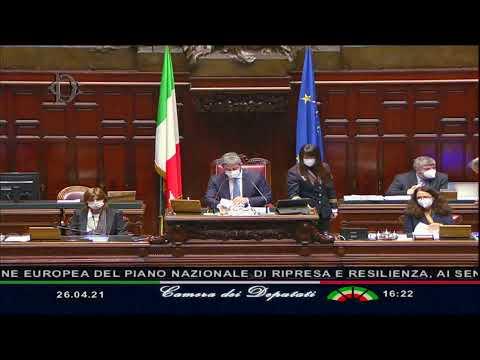 PNNR, le Comunicazioni del Presidente Draghi alla Camera dei Deputati