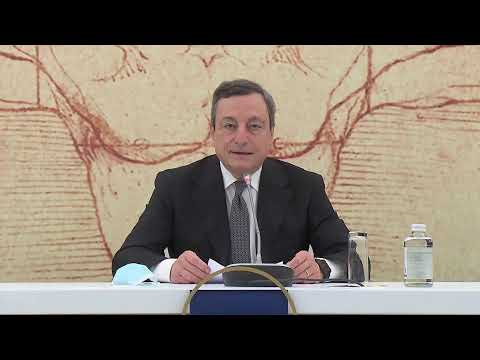 Turismo, il Presidente Draghi introduce la conferenza stampa sulla riunione ministeriale G20
