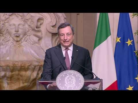 Dichiarazioni alla stampa Draghi – Dabaiba (traduzione simultanea)