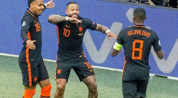 Tris alla Macedonia del Nord, l'Olanda chiude a punteggio pieno