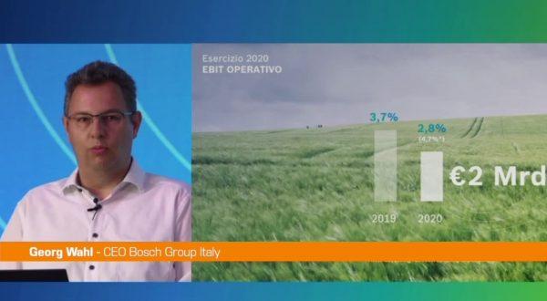 Bosch, in Italia nel 2020 fatturato di due miliardi