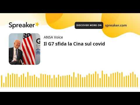 Il G7 sfida la Cina sul covid